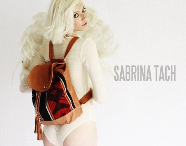 Sabrina Tachdjian Inca backpack | Image courtesy of Sabrina Tachdjian