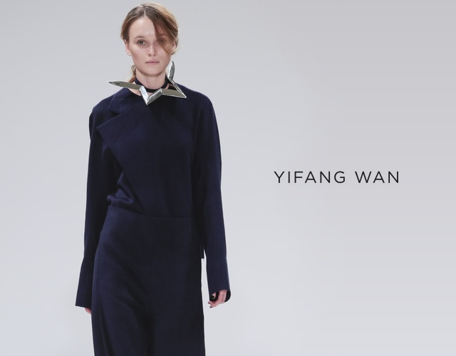 Yifang Wan fall/winter 2013 | Image courtesy of Yifang Wan