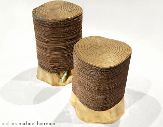 Second Life stool | Image courtesy of Ateliers Michael Herrman