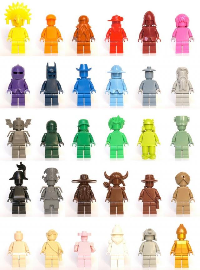 100 custom LEGO minifigs - Photo 29