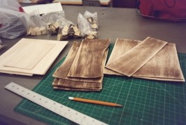 Elizabeth Meiklejohn wood dress - thumbnail_2