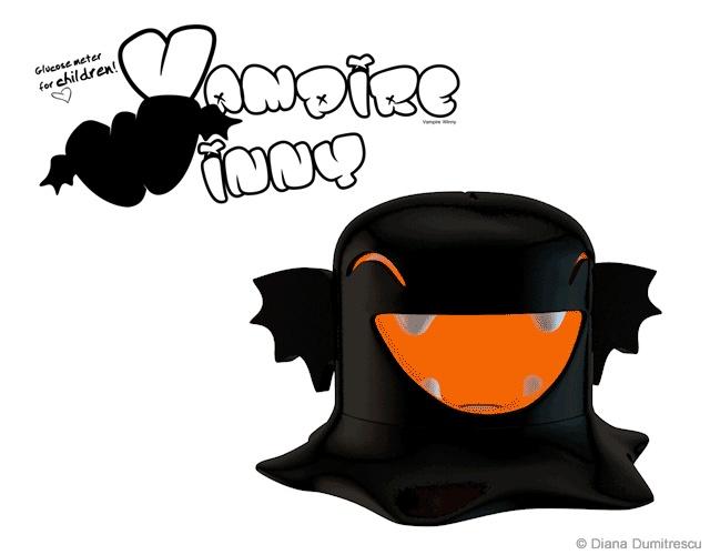 Vampire Winny glucometer