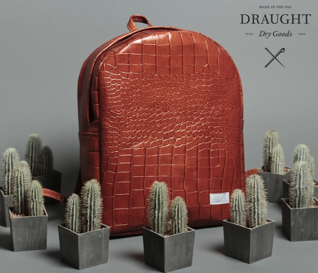 Draught Dry Goods spring/summer 2013 | Image courtesy of Draught Dry Goods