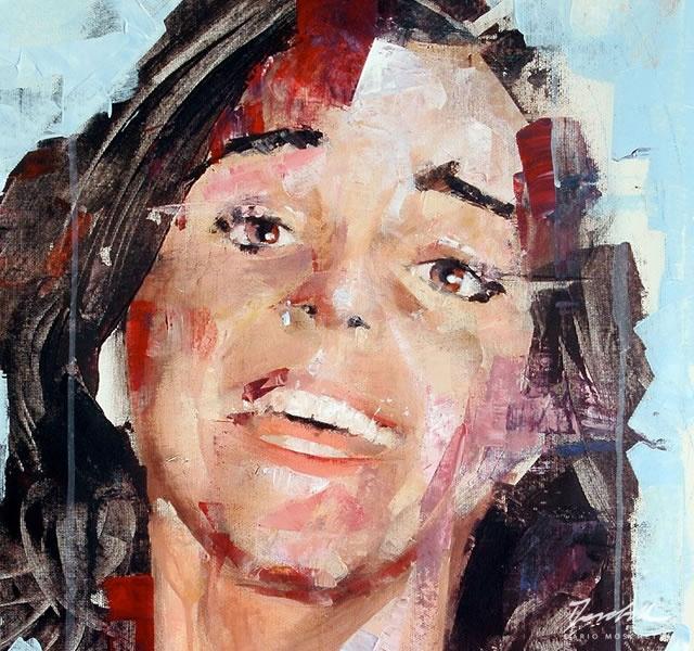 Painting by Dario Moschetta