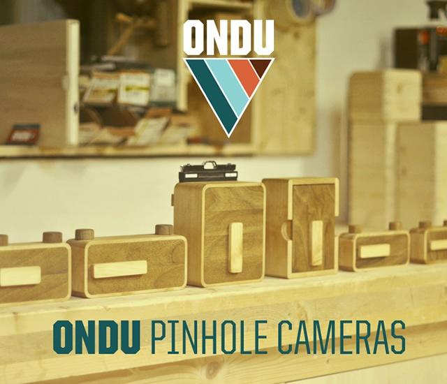 ONDU Pinhole Cameras | Image courtesy of ONDU