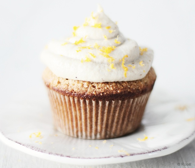 Orange blossoms cupcakes | Image courtesy of Roost