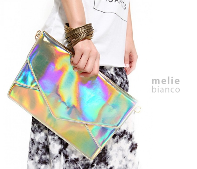 Janelle clutch by Melie Bianco