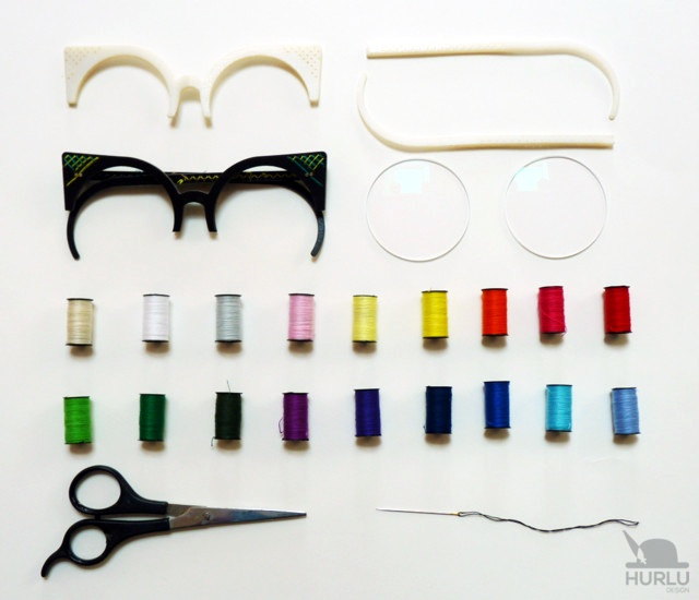 Weaview glasses by Hurlu Design