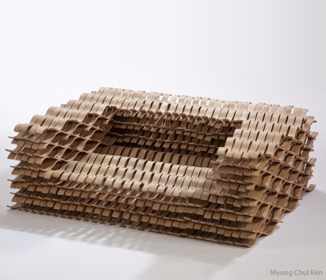 Lattice chair | Image courtesy of Myung Chul Kim