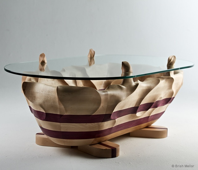 Rough Water coffee table | Image courtesy of Brish Mellor