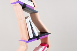 Chopped tree bookshelf - thumbnail_1