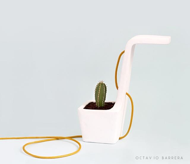 Swan lamp
