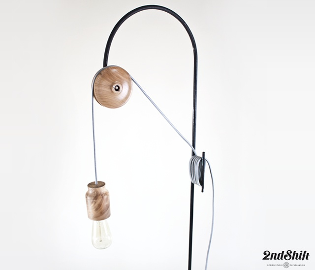 Pulley light | Image courtesy of 2nd Shift