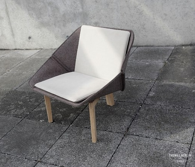 Chevalet armchair | Image courtesy of Thomas Merlin, Kevin Pailler