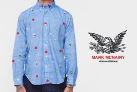 Mark McNairy Pill BD shirt - thumbnail_1