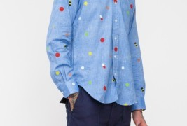 Mark McNairy Pill BD shirt - thumbnail_2