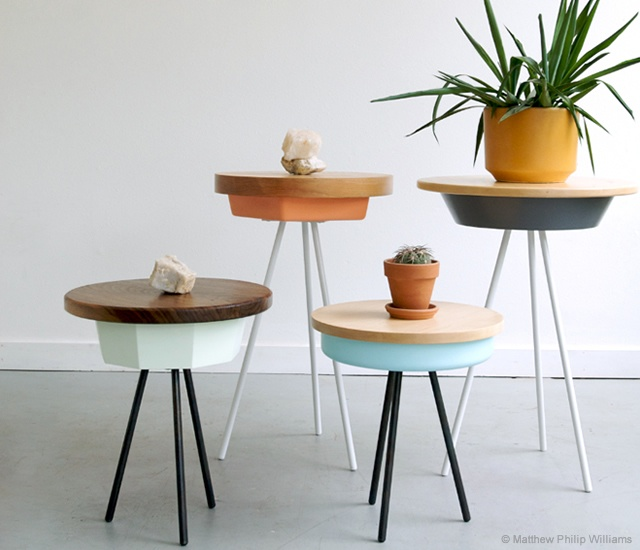 Tripod table family | Image courtesy of Matthew Philip Williams