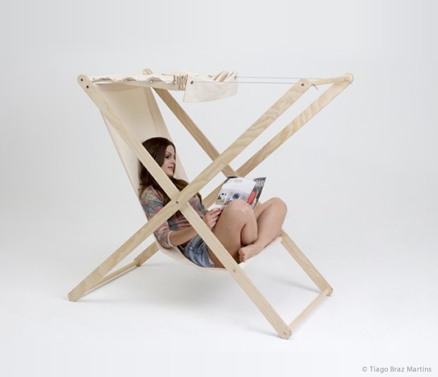 Double X chair | Image courtesy of Tiago Braz Martins