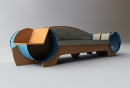 Barrel couch by Vladimir Kevreshan - thumbnail_4