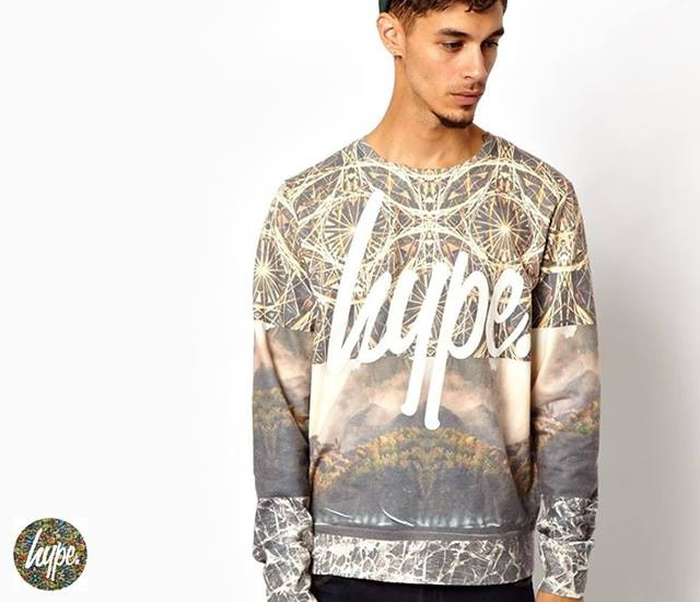 Hype Mountain Range Sweatshirt | Image courtesy of Hype