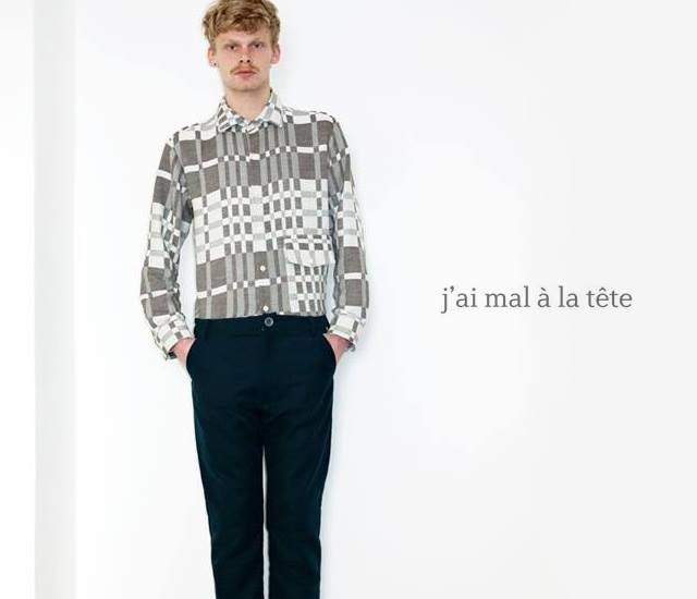 J'ai mal a la tete fall/winter 2013 | Image courtesy of Not just a label