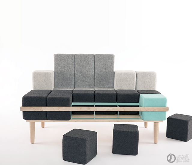 Bloc-d sofa | Image courtesy of Scott Jones