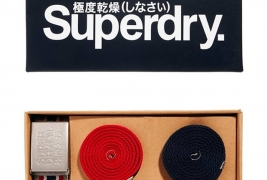 Superdry canvas belt set - thumbnail_1