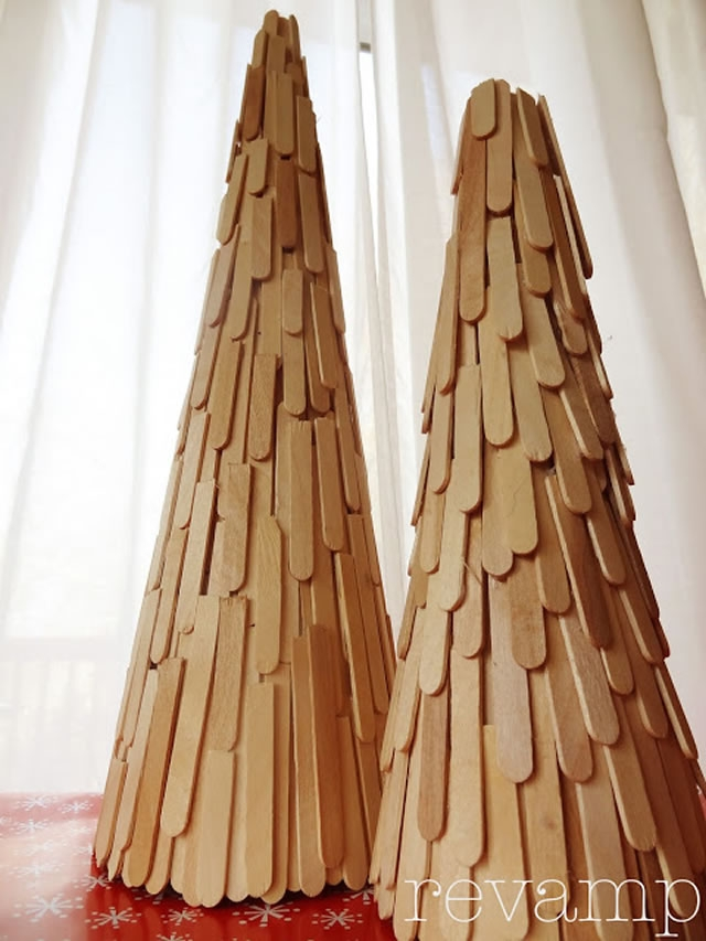 100 DIY XMas Trees - Photo 54