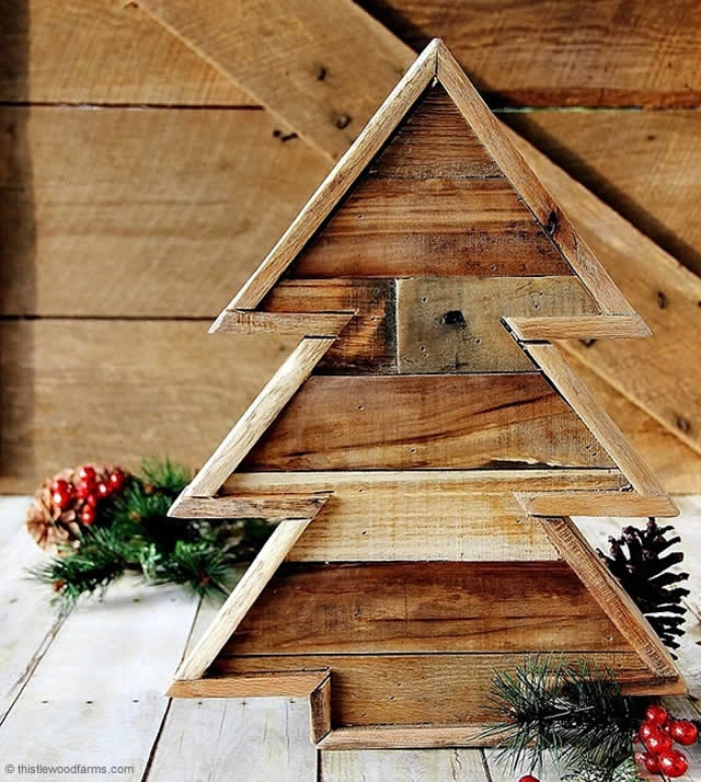 100 DIY XMas Trees - Photo 69